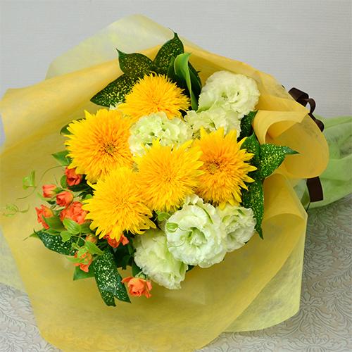 ヒマワリの花束<サリー >