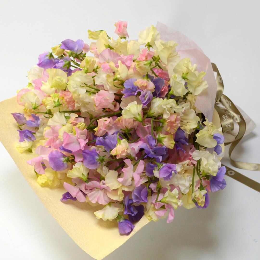 春の花束<スイートピー>